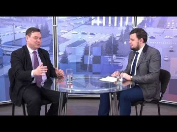 Embedded thumbnail for Гость - начальник управления по развитию физкультуры, спорта и молодежной политики Дмитрий Язовских