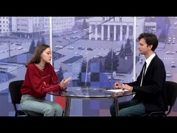 Embedded thumbnail for Гость - художница Алиса Горшенина